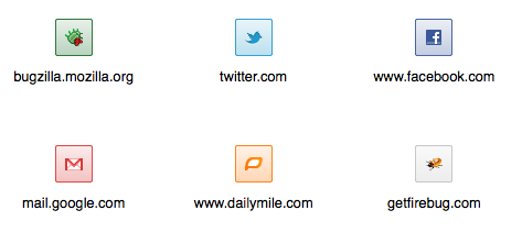 Dominant Favicon Colors
